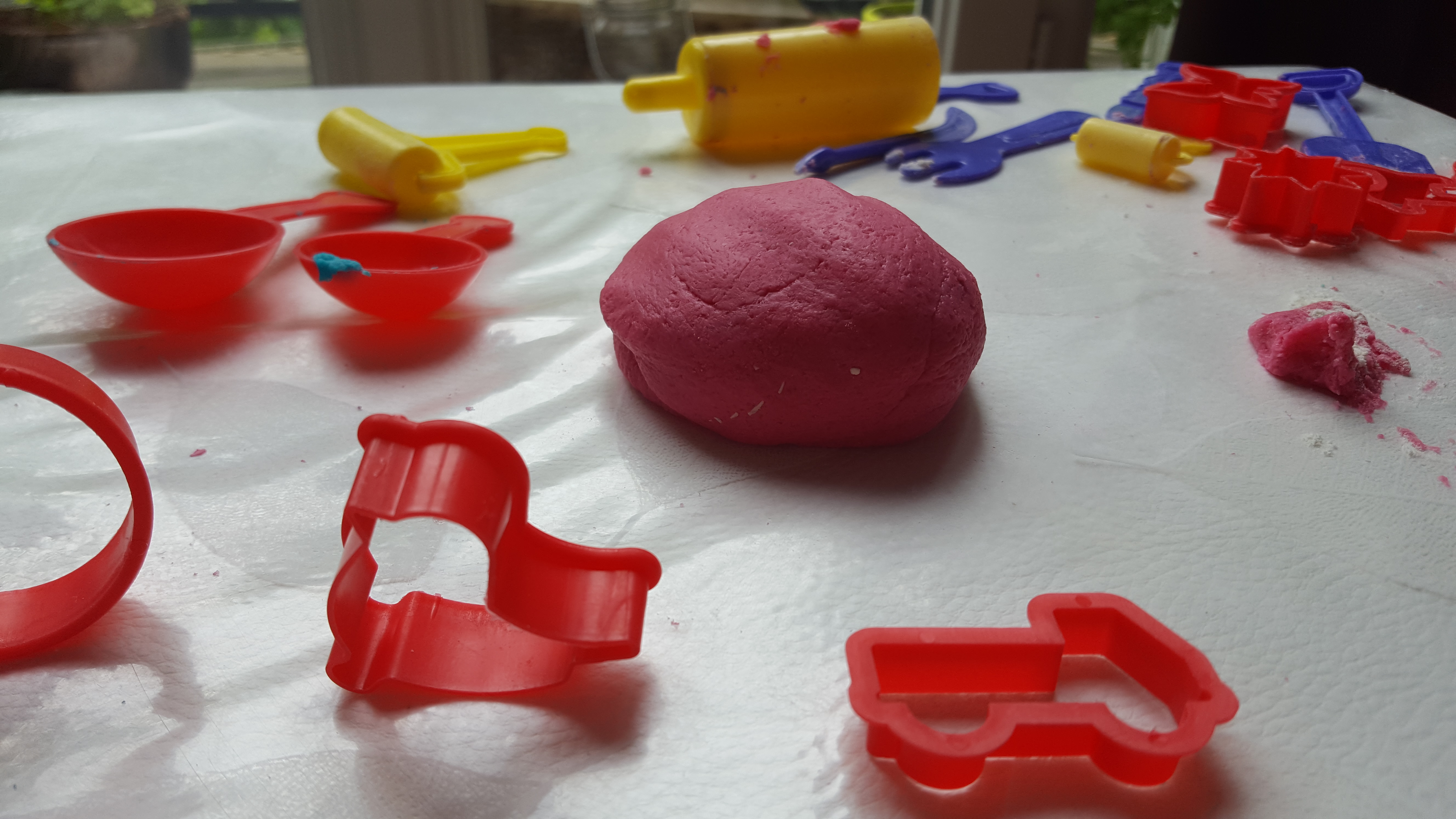 Atelier pâte à sel en couleur